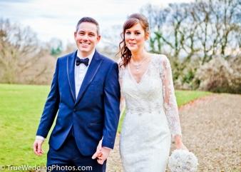 Bride & Groom Wedding Photography Crathorne Hall