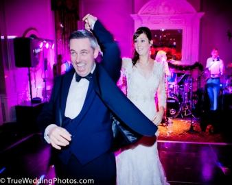 1st dance Wedding Photography Crathorne Hall