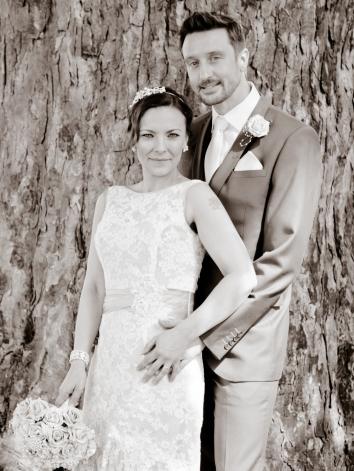 Posed style wedding photography