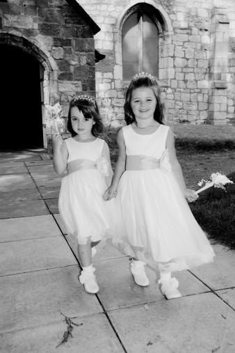 Wedding Photography flower girls
