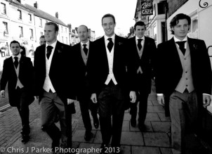 Wedding photography of Ushers