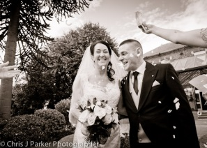 Wedding photography at The Parkmore Hotel
