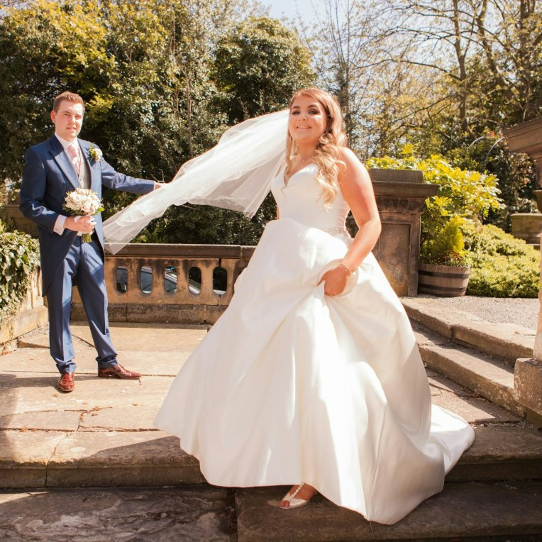 Wedding photography at Bannatynes hotel in Darlington